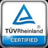 TÜV Rheinland certified